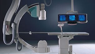 interventional x-ray allura in hospital solution