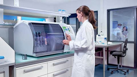 Life sciences trial image